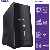 Computador business b700 - i7-9700 3.0ghz 8gb ddr4 hd 1tb hdmi/vga fonte 500w - b97001t8 - skul