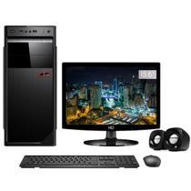 "Computador com Monitor 15.6"" LED CorpC Intel Core i3 6GB HD 500GB Wifi -"