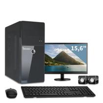 Computador com monitor 15,6 intel dual core 2gb 320gb 3green