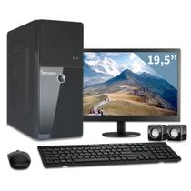 Computador com monitor 18,5 intel dual core 2.41ghz 4gb hd 1tb 3green triumph business desktopp
