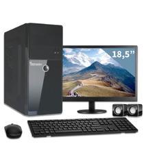 Computador com monitor 19,5 intel dual core 2gb hd 320gb 3green triumph business desktop -