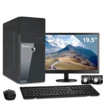Computador com monitor 19,5 intel dual core 4gb hd 320gb 3green triumph business desktop