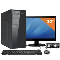 Computador com Monitor LED 19.5 EasyPC Intel Dual Core 2.41 2GB HD 320GB