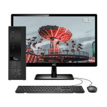 """Computador Completo 3green Exclusive Intel Core i7 16GB com SSD 60GB e HD 2TB Wifi Dual Band Monitor 19,5"""" HDMI PC CPU -"""