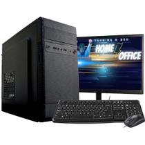 Computador Completo Intel Core 2 Duo 8GB HD 500GB Monitor - F-New