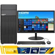 Computador Completo Intel Core i5 4gb HD 500gb Wifi Monitor - Fnew