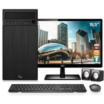 """Computador Completo Intel Dual Core 4GB HD 500GB Monitor HDMI 19.5"""" Skill -"""