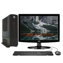 "Computador Completo Intel Dual Core J1800 RAM 4GB SSD 32GB INIT i85 Green Tech Monitor 15,6"" -"