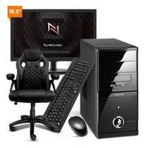 Computador Completo Neologic NLI81899 Intel G-5900 10º Geração 8Gb 1TB + Cadeira -