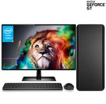 Computador CorpC Graphics Intel Core i5 8GB (Placa de vídeo GeForce GT) SSD 120GB HD 2TB Monitor LED 19.5