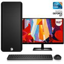 """Computador CorpC Graphics Intel Core i5 8GB (Placa de vídeo GeForce GT) SSD 240GB Monitor LED 19.5"""" -"""