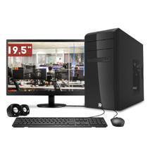 Computador CorPC Intel Core i3 4GB DDR3, HD 500GB e Monitor LED 19.5 -