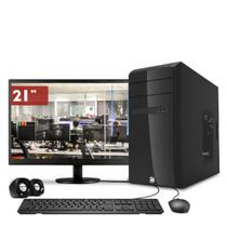 Computador CorPC Intel Core i5 8GB DDR3, HD 1TB e Monitor LED 21