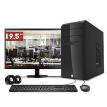 "Computador CorPC Intel Core i5 8GB HD 500GB Monitor HDMI 19.5"" LED Kit multimídia mouse teclado e caixas de som -"