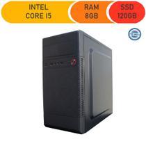 Computador Corporate I5 8gb 120gb Ssd -