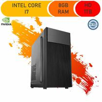 Computador Corporate I7 8gb Hd 1tb Windows 10 Gt 210