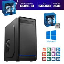 Computador Descktop Intel Core i3 500GB HDD 4GB Memória - Pyx One