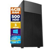 Computador Descktop Intel Core i3 500GB HDD 4GB Memória - Pyx One