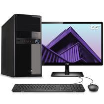 """Computador Desktop Completo Quantum Intel Core i3 6GB HD HD 3TB Monitor 19.5"""" HDMI LED com mouse e teclado -"""