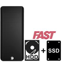 Computador Desktop CorPC Fast 2 Intel Core i5 3.60Ghz 16GB SSD 120GB HD 500GB WiFi -