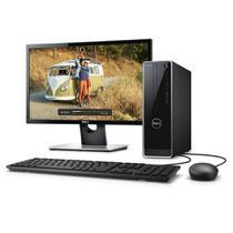"""Computador Desktop Dell Inspiron 3470-A30M 9ª Geração Intel Core i7 8GB 2TB Windows 10 completo com Monitor 21,5"""" -"""