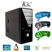 Computador Desktop Icc Intel Core i5 8gb HD 2tb