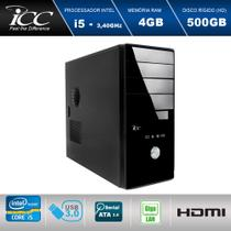 Computador Desktop Icc Iv2540s-2 Intel Core I5 3. 2 ghz 4gb Hd 500gb -
