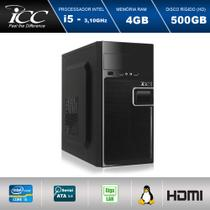 Computador Desktop Icc IV2541S Intel Core I5 3.2 ghz 4gb Hd 500gb