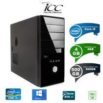 Computador Desktop Icc IV2541W-S Intel Core I5 3.2 ghz 4gb Hd 500gb Windows 10 -