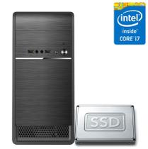 Computador Desktop Intel Core i7 16GB SSD 480GB CorPC Fast -