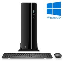 Computador Desktop Processador Intel Core i5 4GB HD 500GB Windows 10 CorPC Slim -