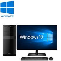 """Computador Desktop Processador Intel Core i5 4GB SSD 120GB Monitor 19.5"""" HDMI Windows 10 EasyPC -"""