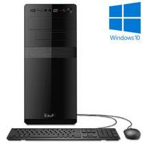 Computador Desktop Processador Intel Core i5 4GB SSD 120GB Windows 10 EasyPC -
