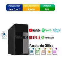 Computador Desktop Quantum Expert QE51001D Intel Core i5 3,4GHZ 8GB HD 500GB HDMI Full HD -
