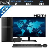Computador Easy PC Connect Intel Core i5 (Gráficos Intel HD) 8GB HD 2TB Monitor 19.5 LED HDMI - Easypc