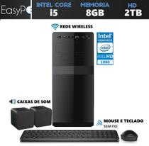 Computador Easy PC Connect Intel Core i5 (Gráficos Intel HD) 8GB HD 2TB Wifi HDMI Full HD - Easypc