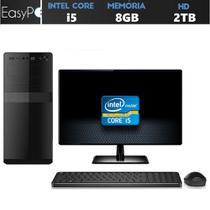 Computador Easy PC Pro Intel Core i5 (Graficos Intel HD) 8GB HD 2TB Monitor LED HDMI - Easypc