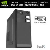Computador EASYPC AMD Athlon X4 Quad Core 4GB HD 500GB com Nvidia Geforce GT 1GB 64 Bits