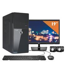 Computador EasyPC Intel Core i3 4GB HD 1TB Monitor 19.5 LG 20M37A