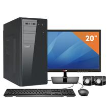 Computador EasyPC Intel Core i3 4GB HD 500GB DVD Monitor LED 19.5 LG