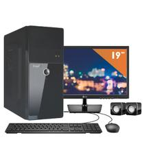 Computador EasyPC Intel Core i5 8GB HD 1TB DVD Monitor 19.5 LG 20M37A Windows 10