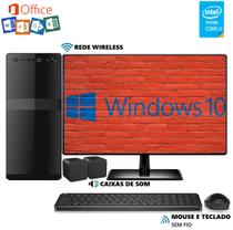 Computador EasyPC MicrosoftPack Intel Core i3 4GB HD 500GB Monitor 19.5 LED Wifi Windows 10 e Office