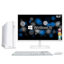 """Computador EasyPC Slim White Intel Core i5 8GB HD 1TB Monitor LED 19.5"""" HQ HDMI Branco Windows 10 -"""
