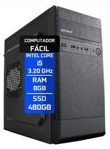 Computador Fácil Intel Core I5 8GB SSD 480GB - Fácil Computadores