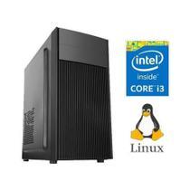 Computador Flex Computer Dynamic Intel Core i3 3.0GHZ 8Gb Memória Ram Ddr3 Hd 500Gb / Monitor 19  / Kit -