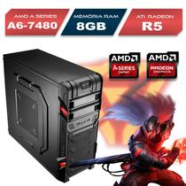 Computador Gamer AMD A6-7480 ATI Radeon R5 RAM 8GB HD 1TB Windows 10 - Alfatec