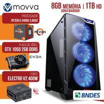 Computador Gamer AMD RYZEN 5 2400G 3.4GHZ MEM. 8GB HD 1TB GTX 1050 2GB Fonte 400W - Linux -