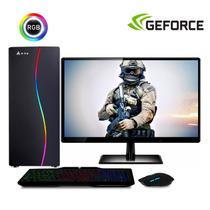 Computador Gamer Completo com Monitor LED Intel Core i5 8GB HD 500GB (Nvidia Geforce GT 2GB) Kit Gamer EasyPC Stronger -