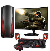 Computador Gamer Completo FoX PC AMD AM4 3.2Ghz 8GB (Radeon RX VEGA) HD 1TB Monitor Curvo 24 Samsung - Foxpc
