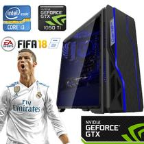 Computador Gamer Core i3 1000GB HDD/8GB RAM GTX 1050 Ti 4GB 128 Bits YessTech Power